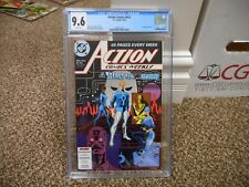 Action Comics 612 cgc 9.6 DC 1988 48 page Weekly Superman new Secret Six reveal