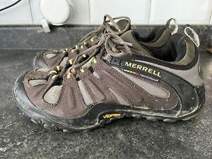 MERRELL Chameleon Dusty Olive Trekking Hiking Outdoor Shoes Mens size 9