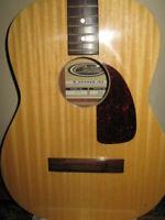 Vintage Hohner Contessa Acoustic Guitar. Model HG-01.1960's. Needs Bridge Repair