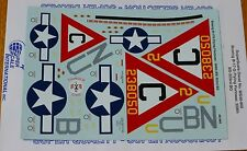Microscale Decal #MS48-966 Boeing B-17G Flying Fortress: 359th BS/ 303rd BG