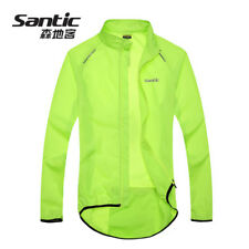 Mens Cycling Wind Coat Bicycle Jerseys Bike Raincoat Windproof Waterproof Skin