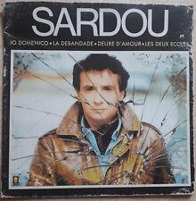 """33T Michel SARDOU Vinilo LP 12"""" DOMENICO DE IO - LA ESTAMPIDA - TREMA 310181"""