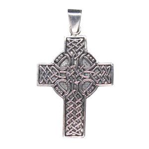 Kinderschmuck keltisches Kreuz Anhänger 925 Sterling Silber Schmuck Neu Damen
