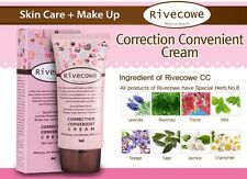 Rivecowe CC BB Cream covering whitening Skincare Make up SPF40+++ Korea Korean