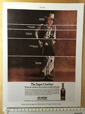 "Vintage colour advert 1967: 11"" x 8"" (28cm x 20cm) 100 Pipers Scotch Reprint"