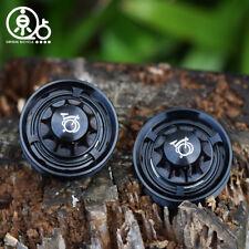 Lightweight Aluminum alloy CNC Tensioner Wheels for Brompton Black  Set 46g