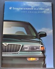 1997 Mercury Grand Marquis Catalog Brochure GS LS Excellent Original 97