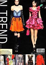 In-Trend No. 6 2012-2013 Autumn Winter Dress & Gown Fashion Catalog Couture