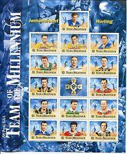 Ireland 2000 Scott 1246, Irish Hurling Team of the Millennium Sheet, NH