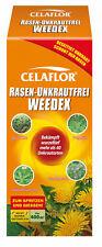 Celaflor Pelouse Exempt de Mauvaises Herbes Weedex 400 ML Contre En Désherbant
