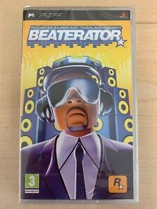 Beaterator Sony PSP *New and Sealed with Sony tear strip* ULES 01023 Rockstar