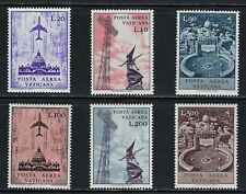 Vatican - MNH Airmail Stamps from 1967  C47-C52...........# 7 21