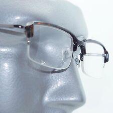 reading glasses extra wide top half frame metro sleek tortoise brown 350 lens - Wide Frame Reading Glasses