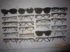 Lot of 24 Coach Eyeglasses WOMEN NAMES College RETRO Hollywood BIG New York WIDE