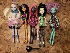 Monster High Doll Lot Catty Noir Cleo de Nile Honey Swamp Scarah Screams Abbey