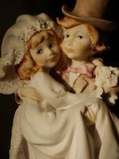 "Giuseppe Armani Florence Figurine Porcelain Magic Memories ""Just Married�"