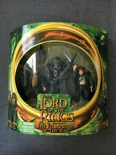 Toy Biz Lord of the Rings Fellowship Of The Ring Merry and Pippin and Moria Orc