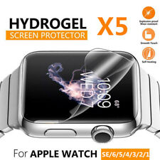 For Apple Watch iWatch 6/5/4/3/2/SE Soft Hydrogel Screen Protector 38/42/40/44mm