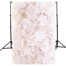 5x7ft Flowers Baby Photography Background Vinyl Photo Romantic Wedding Backdrop