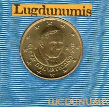 Vatican 2012 10 Centimes d'Euro BU FDC 85000 exemplaires Provenant du coffret BU