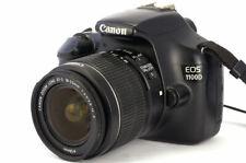 Canon EOS Rebel T3 / EOS 1100D 12.2MP Digital SLR Camera - Black (Kit w/ EF-S...
