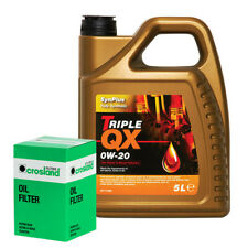 Triple QX Fully Synthetic Plus 0W20 Engine Oil 5L and Oil Filter Service Kit