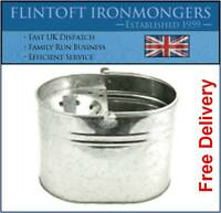 Galvanised Metal Mop Bucket Strong Large Capacity Cleaning