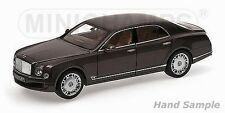 Minichamps 2010 Bentley Mulsanne Brown Color 1:18 Hard to find*