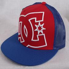 neuf avec étiquettes DC Daxx bleu roi / ROUGE CASQUETTE TAILLE UNIQUE chapeau /