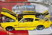 1967 FORD MUSTANG GT CUSTOM 1/24 MAISTO NEW MIB NICE DETAILS