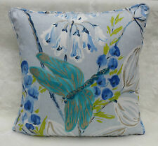 Designers Guild Fabric Cushion Cover 'KIMONO BLOSSOM' Delft - 100% Cotton - 18""