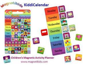 Magnetikids Kiddi Calendar- Childrens Magnetic Activity Planner