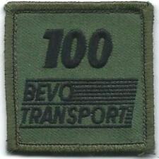 BORSTEMBLEEM ROYAL NETHERLANDS ARMY    100 BEVO & TRANSPORT  # 2