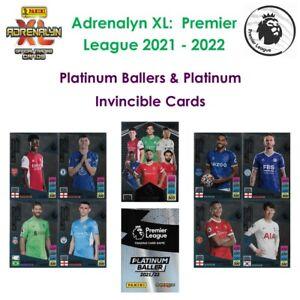 Panini Adrenalyn XL - Premier League 2021 - 22: Platinum Ballers & Invincible