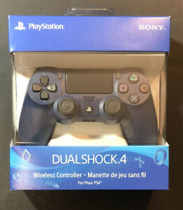 Official Sony PS4 DualShock 4 Wireless Controller v2 [ Midnight BLUE ] NEW