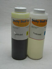 "Professional ""TOOLCAST"" liquid urethane plastic for casting*paintable* 2pint kit"