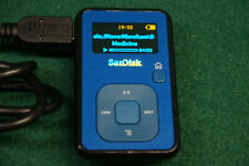 SanDisk Sansa Clip+ Blue Blue (4 GB) Digital Media Player