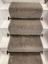 CHUNKY CARPET STAIR RUNNER 16 STEPS @ 60cm  Wide, BLEACH CLEANABLE, HARDWEARING