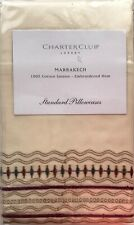 CHARTER CLUB LUXURY MARRAKECH 2 STANDARD PILLOWCASES NEW IN PACKAGE