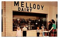Mellody Dairy, Hawthorn-Mellody Farms, Libertyville, IL Postcard *6S(2)6