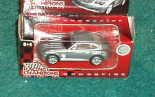 RACING CHAMPIONS CHRYSLER CROSSFIRE SILVER 1/64