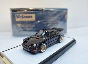 Porsche 911 (964) RSR 3.8 1993 (BBS wheel) Black MAKE UP 1/43 #VM214B