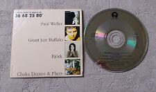 """CD AUDIO INT/ VARIOUS """"ÉCOUTEZ, JOUEZ ET GAGNEZ AU 36 68 25 """" PAUL WELLER, BJÖRK"""