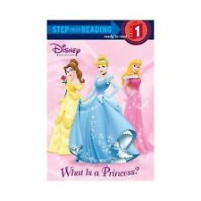 Disney What is a Princess early beginning reader kid book Learn read level 1