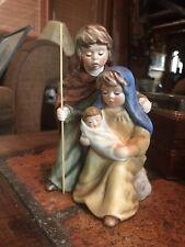 "German Porcelain Goebel Weihnacht(Christmas)  Nativity Scene , Handpainted, 7"" h"