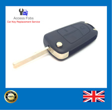 Opel Vauxhall Vectra C Signum 3 button Flip remote key fob (Aftermarket) NEW