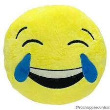 New Royal Deluxe Emoji Plush Pillows Laughing Tears Fun Face