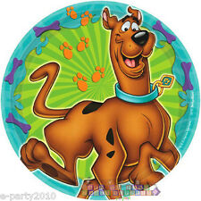 SCOOBY-DOO WHERE ARE YOU! SMALL PAPER PLATES (8) ~ Birthday Party Supplies Cake