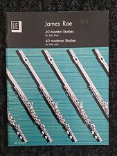 James Rae 40 Modern Studies for Solo Flute Grades 1 - Diploma (Shop display)