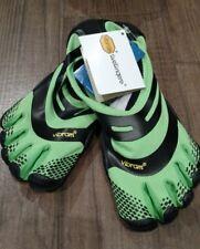 NWT Vibram Fivefingers EL-X Cross Training Shoes Green/Black EU 39 US 8.5